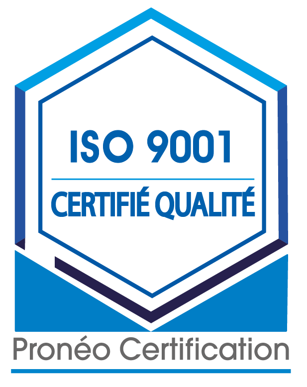 Logo officiel ISO 9001-01