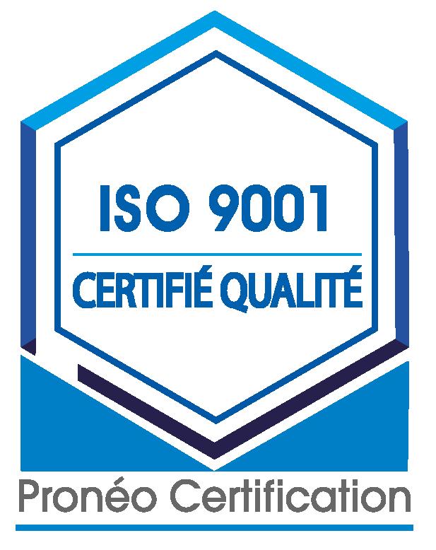 Logo officiel ISO 9001-01